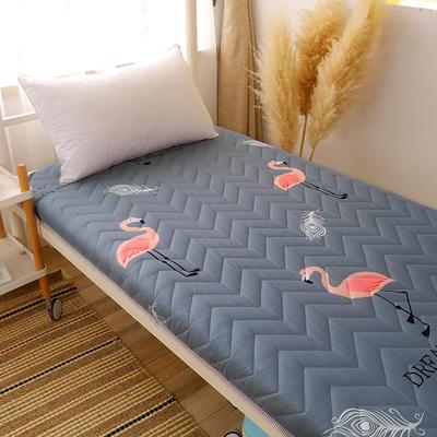 2020新款磨毛印花学生款床垫 0.9m床厚度6cm 火鸟