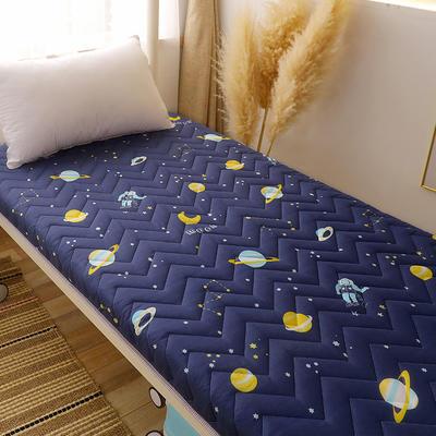 2020新款磨毛印花学生款床垫 0.9m床厚度6cm 快乐星球