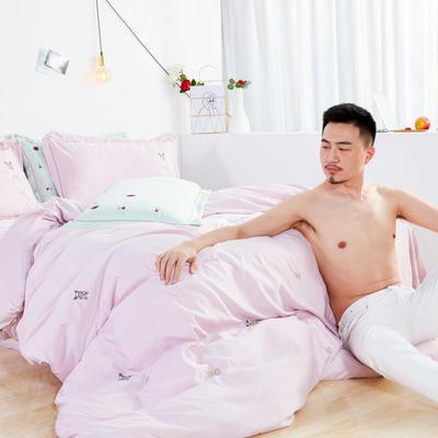 2019新款-60s吉瑞斯四件套 1.5m-1.8m床(床单款) 狗旺旺-玉