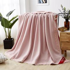 2019新款针织棉被套款功能性夏被 200X230cm 波点粉