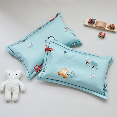 2020新款醇净系列-60长绒棉儿童枕套 35CMX55CM/只枕套 城市交通