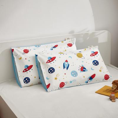 2021新款童画系列—全棉AB版儿童枕套 48*74cm 太空之旅