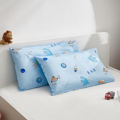 2021新款童画系列—全棉AB版儿童枕套 48*74cm 小宇宙