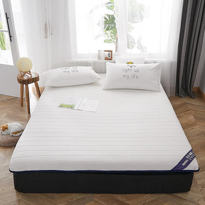2019新款乳胶床垫6.5厘米单边款 0.9*2米 白