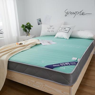2019新款乳胶床垫10厘米立体款 0.9*2米 绿