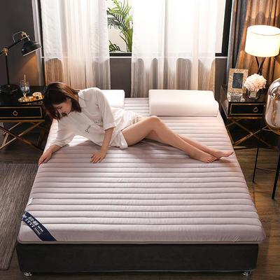 (總)伊先生寶寶絨記憶海綿乳膠床墊專業定做6cm和9cm 0.9*1.9米 單邊灰6cm