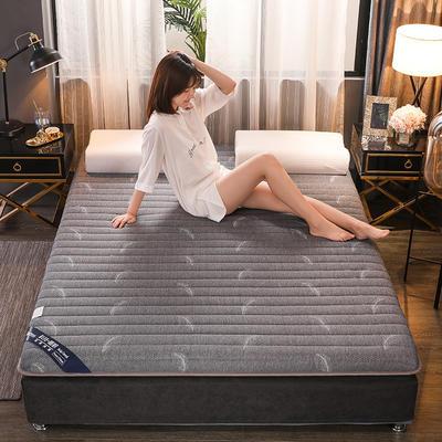 2019新款乳膠床墊6厘米單邊記憶海綿款 0.9*1.9米 單邊羽毛6cm
