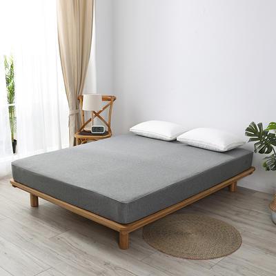 2020新款黑科技铜纤维抗菌防螨床笠 90*200cm定做 高级灰