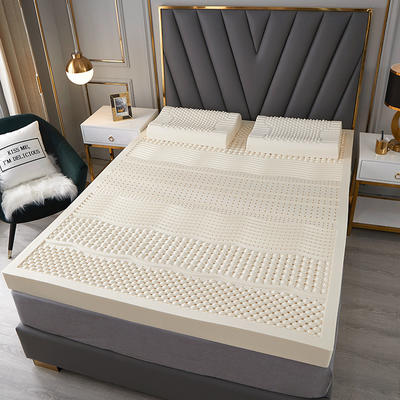 2020新款純乳膠床墊A品 90*190cm含內外套 七區按摩款5厘米