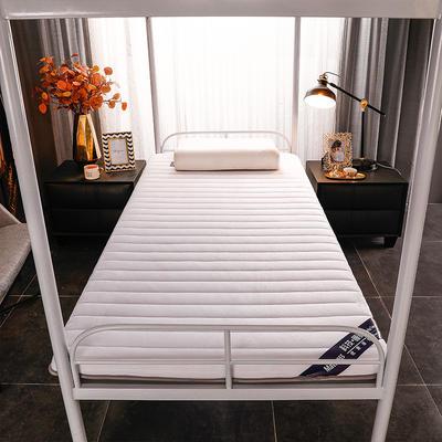 2020新款寶寶絨乳膠海綿學生床墊-終板 90*190cm 學生單邊5厘米款-白
