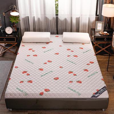 2020新款針織乳膠椰棕墊單邊款床墊-終板 60*120cm 棕墊草莓