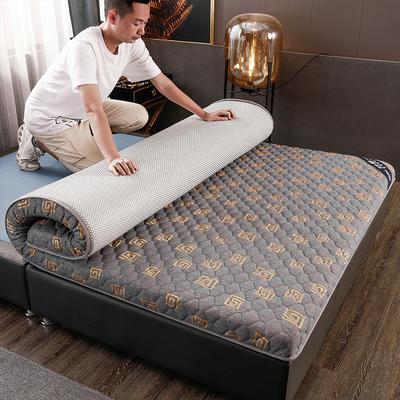 2020新款针织乳胶椰棕垫单边款床垫-终板 60*120cm 棕垫金灰