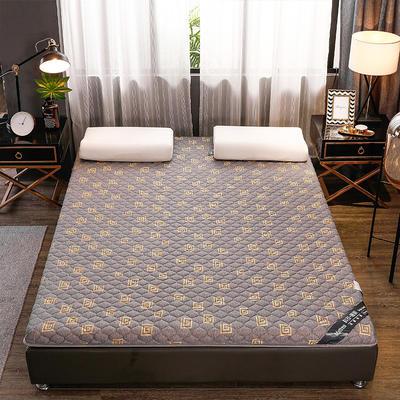 2020新款針織乳膠椰棕墊單邊款床墊-終板 60*120cm 棕墊金灰