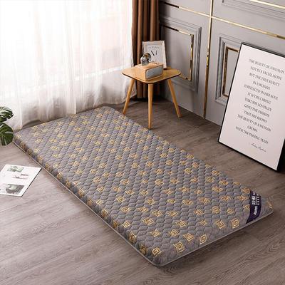 2020新款針織乳膠椰棕墊學生款床墊-終板 60*120cm 棕墊金灰