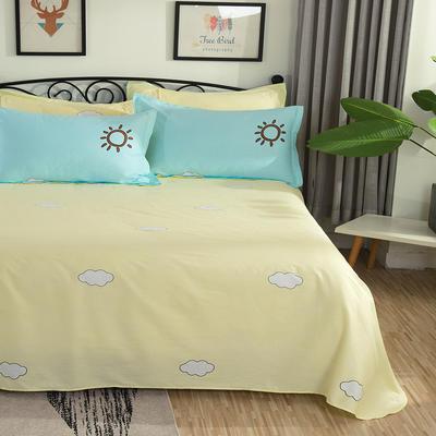 2019纯棉40支12868全棉斜纹床单4规格14色(第一季) 0.9/1.0/1.2米床通用 早安斑比