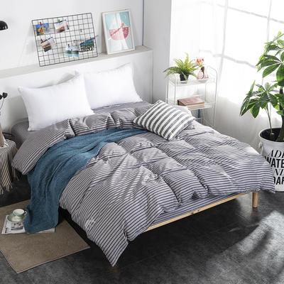 2019NEW纯棉40支12868全棉斜纹单品被套单件被罩30色(4个尺码) 配1.5X2.0米被芯使用 塔希里亚-咖