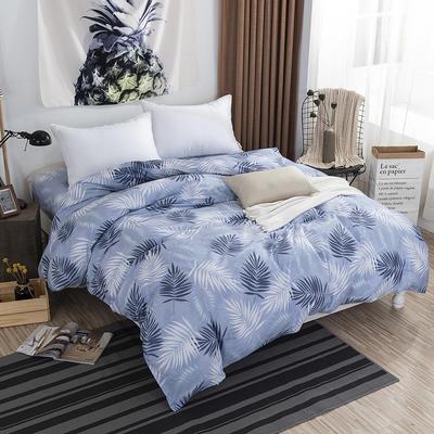 2019NEW纯棉40支12868全棉斜纹单品被套单件被罩30色(4个尺码) 配1.5X2.0米被芯使用 森林幻想