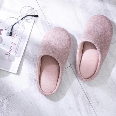 K2004纯色针织家居鞋 M(38-39) 粉色