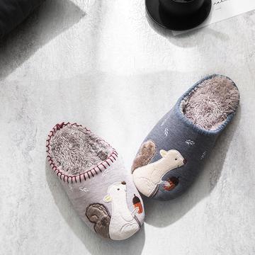 K2025松鼠贴布绣家居鞋2