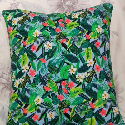 2019新款-花卉抱枕系列 45*45抱枕含芯 热带