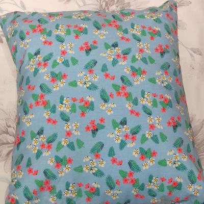 2019新款-花卉抱枕系列 45*45抱枕含芯 碎花
