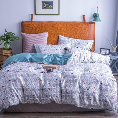 2019新款-60支长绒棉数码印花四件套 1.5m(5英尺)床 康定斯基