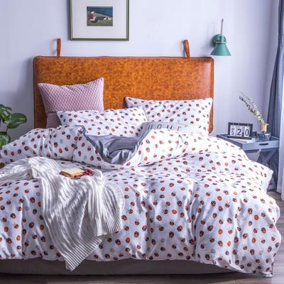 2019新款-60支长绒棉数码印花四件套 1.5m(5英尺)床 瓢虫