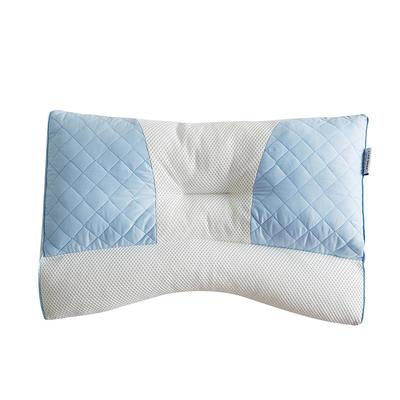 2019新款可调节PE软管枕53*43*9 蓝色