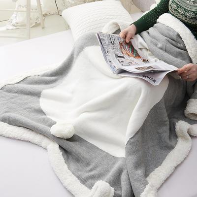 2019新款儿童立体毯 75*105 加加羊羔绒兔子毯