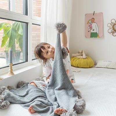 2019新款儿童球球毯 75*105 球球毯