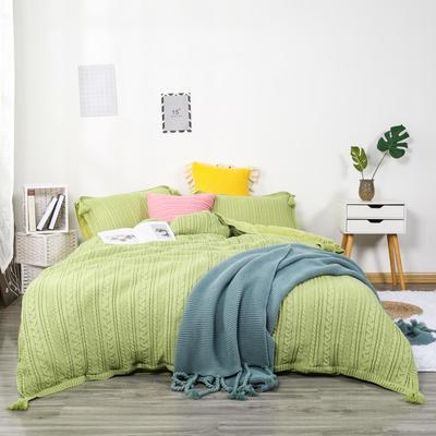 2019新款针织套件 2.0m(6.6英尺)床 水绿