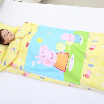 2019新全棉133x72卡通防踢被婴童儿童睡袋100*180cm