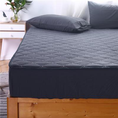 2020新款水洗棉夹棉床笠 支持定制 100cmx200cm 英伦条