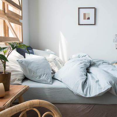 2020新款水洗棉四件套床单床笠款 1.2m床床单款 雅兰