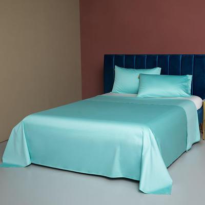 2020新款60支床单 180cmx245cm 冰晶蓝