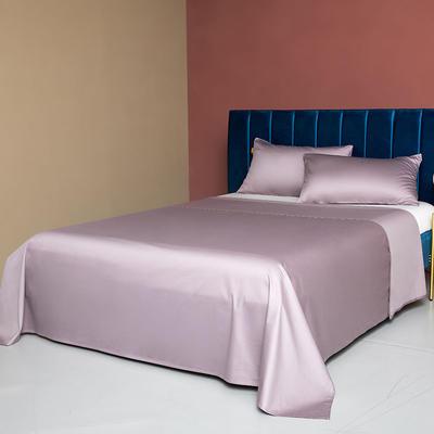 2020新款60支床单 180cmx245cm 典雅紫