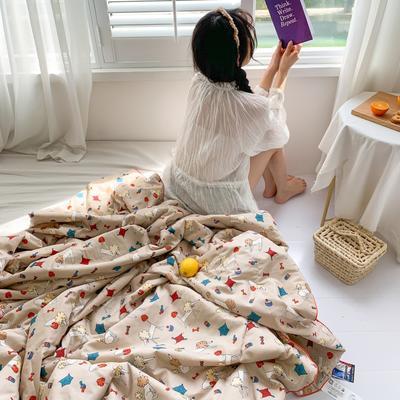 2020新款40S全棉可水洗抗菌蚕丝夏被 150x200cm 小贵宾