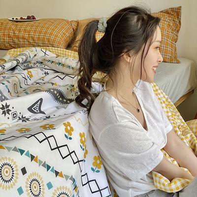 2020年新款全棉棉花驱蚊夏被 150*200 cm单夏被 波西米亚