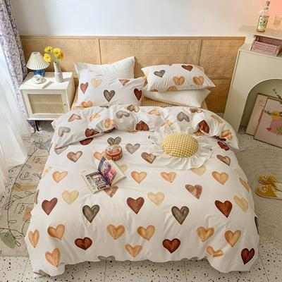 2021年全棉四件套 1.5m(5英尺)床 心愿