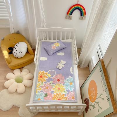 2021新款乳胶席婴儿规格图凉席三件套 150*200凉席三件套 花夏