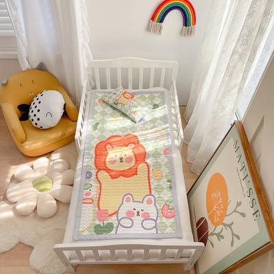 2021新款乳胶席婴儿规格图凉席三件套 150*200凉席三件套 狮子王