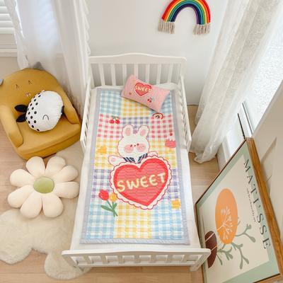 2021新款乳胶席婴儿规格图凉席三件套 150*200凉席三件套 甜蜜小兔