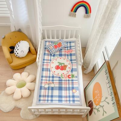 2021新款乳胶席婴儿规格图凉席三件套 150*200凉席三件套 幸运樱桃