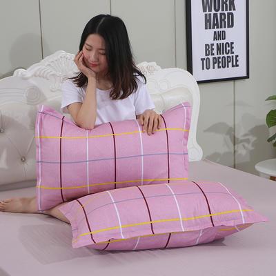 2019新款纯棉枕套 时尚之约48*120