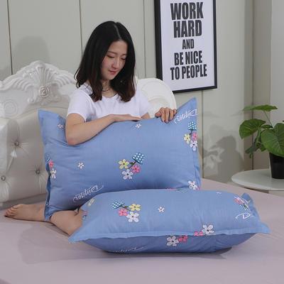 2019新款纯棉枕套 阳光故事48*120