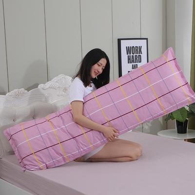 2019新款纯棉枕套 时尚之约48*150
