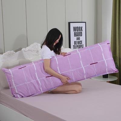2019新款纯棉枕套 随想生活48*150