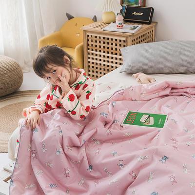 2020新款60長絨棉兒童大豆被 夏被120x150cm  1.7斤 公主萌趣