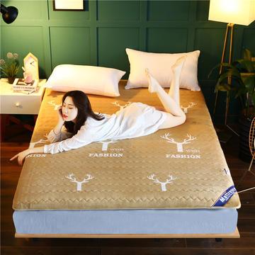 2020新款牛奶绒床垫
