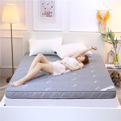 2019新款乳胶加厚立体床垫 90×200 乳胶浅灰色(10公分)